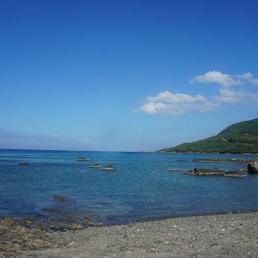חוף בצפון האי