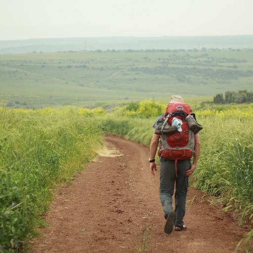הליכה בשביל ישראל לכיוון גזית