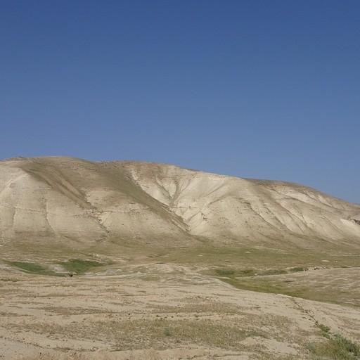 ההרים ממערב לקיבוץ גלגל