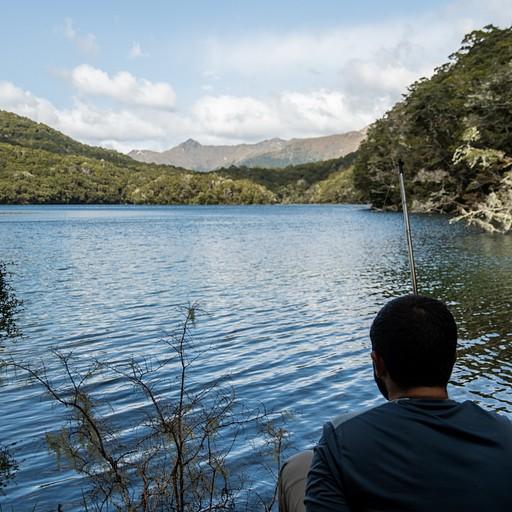 נסיונות כושלים לדייג באגם הisland