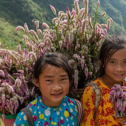 ילדות הפרחים בלופ
