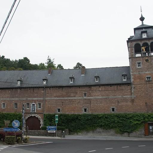 מנזר לף, שימו לב למגדל המפורסם מסמל המותג