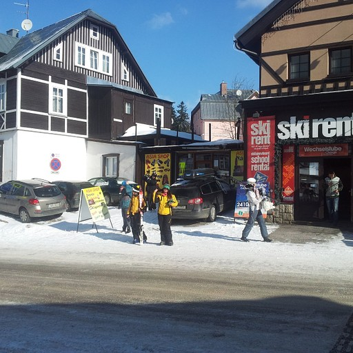 חנות ציוד הסקי