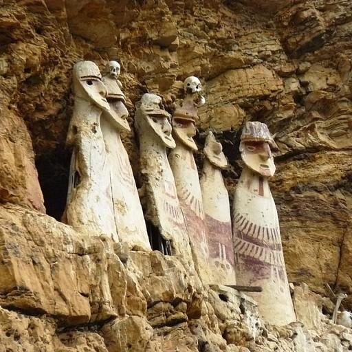 צ׳אצ׳אפויאס - קברים עתיקים