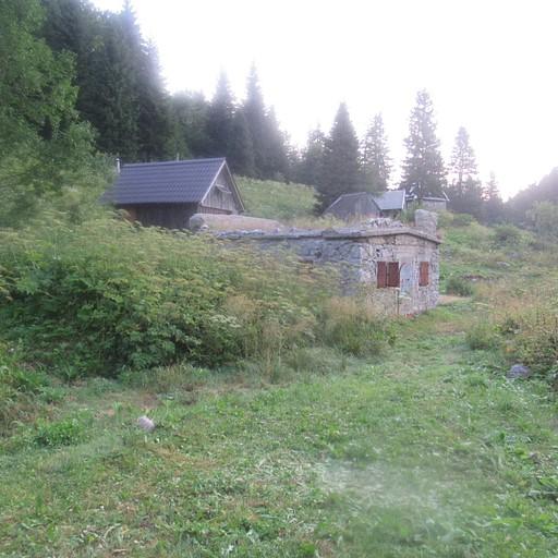 Planina za crno goro - המקום הקריפי בו ישנו בלילה