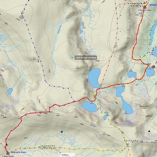 היום השני - שבעת האגמים, הדרך לביקתת איבן ואזוב