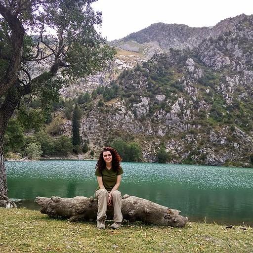 Ozero Karasu lake