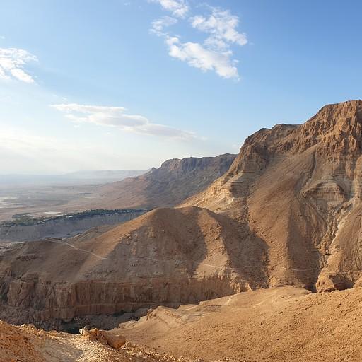 הנוף ממעלה ישי מלמעלה