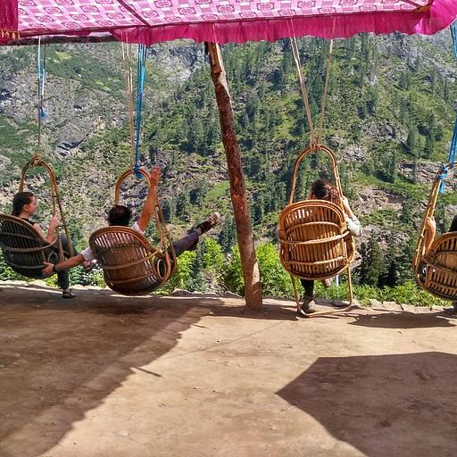 ממתחם האוהלים בקיריגנגה