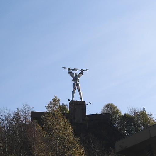 סמל תחנת החשמל המקומית בסכר