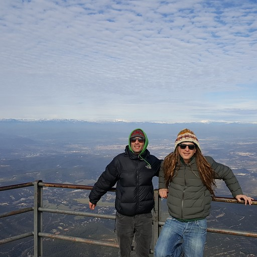 הנקודה הגבוהה ביותר ברכס שנקראת Sant Jeroni, בגובה 1,236