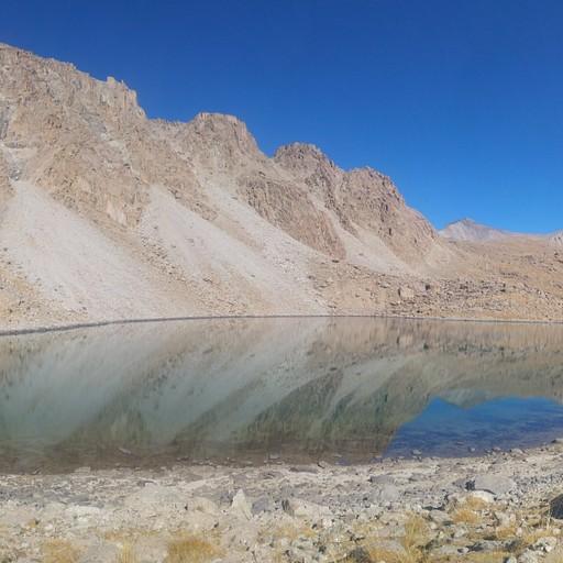 מקרוב הוא קצת פחות מרשים. אגם kosh-kel