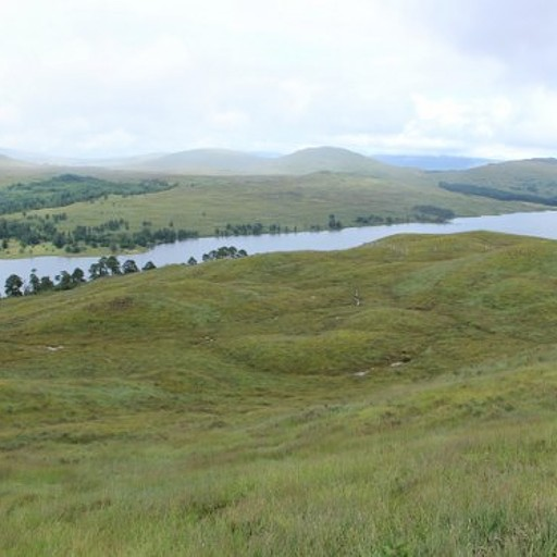 פנורמה מתצפית Loch Tulla