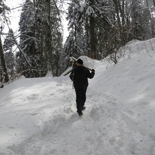 בדרך ל-Cascada Urlatoarea