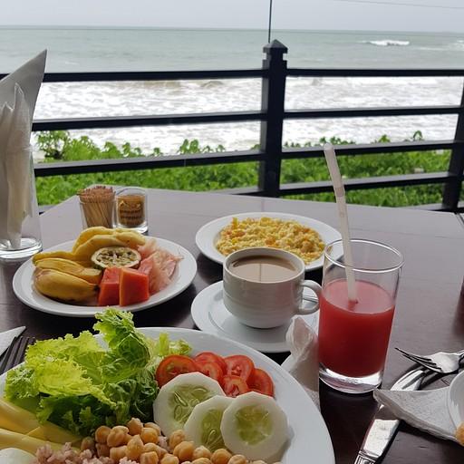 Paradise Beach Club ארוחת בוקר