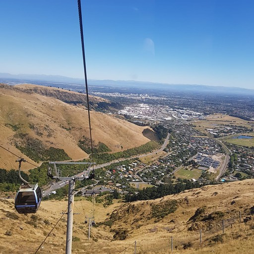 """Christchurch Gondola הרכבל. אטרקציה חמודה ונגישה בתחב""""צ"""