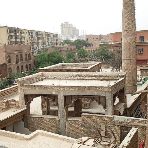 נוף מאחד הגגות בעיר