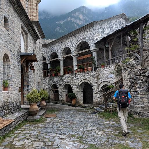 במנזר איוס דיוניסיוס