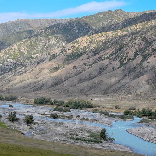 הנהר ליד סאטי