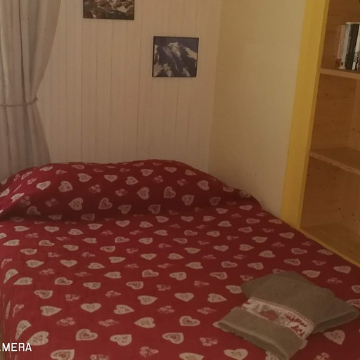 חדרנו הצנוע בLes Chapieux