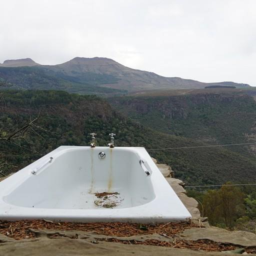 האמבטיה לא פעילה בגלל מחסור במים