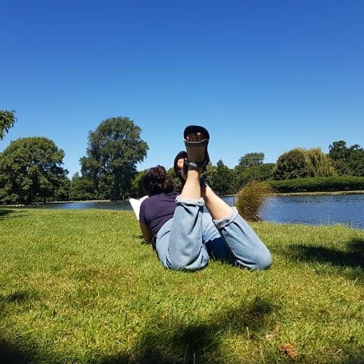 Hagley Park. מקום מושלם לתפוס רגע של שקט