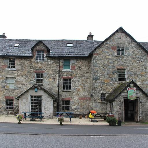 The drover's Inn מבחוץ
