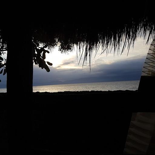 שקיעה בחוף במלון במואל בואל