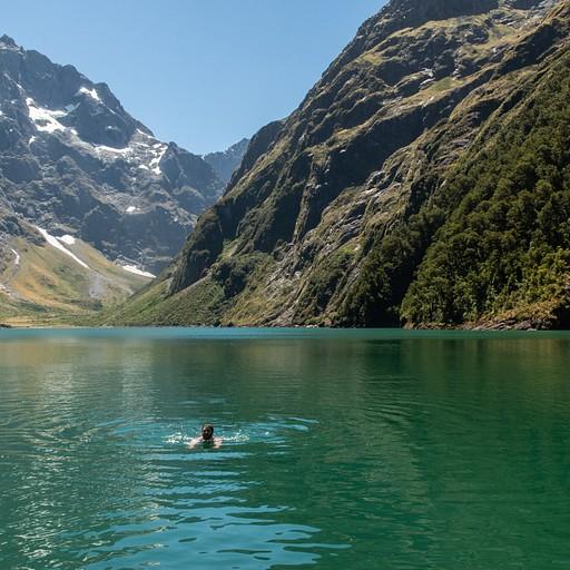 שוחים קצת ביום חם במיוחד