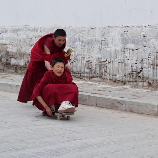 סקייטבורד במנזר לאבראנג