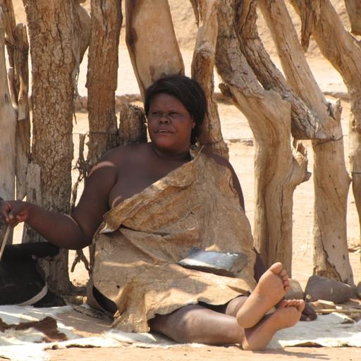 שבט אפריקאי שפגשנו בדרך