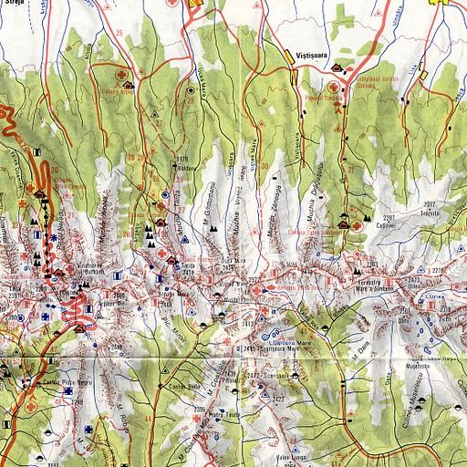 מפה כללית נוספת עם סימוני ביקתות