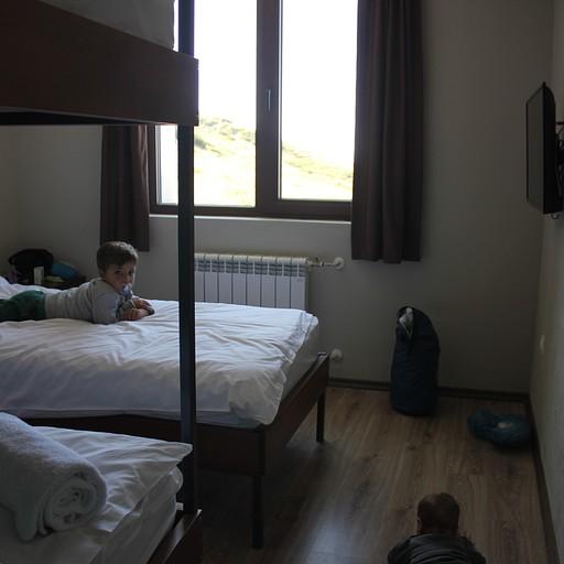 החדר שלנו בבקתת רילסקי