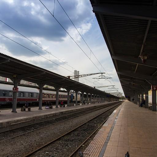 תחנת הרכבת בוקרשט נורד.