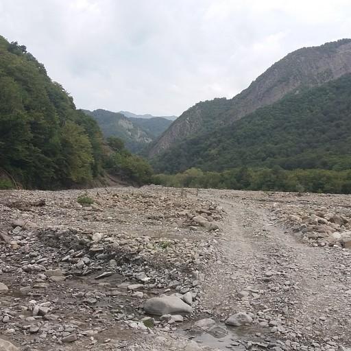 תחילת המסלול מצ'איגוושאן