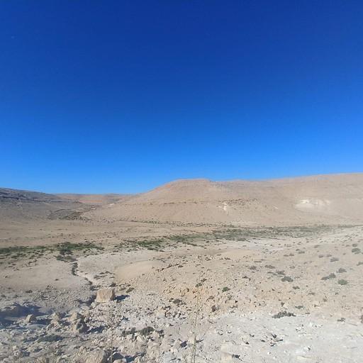 הנוף מהקצה המערבי של רכס הר ערקוב