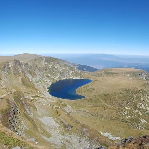 פנורמה שבעת האגמים. היום היפה ביותר בטרק.
