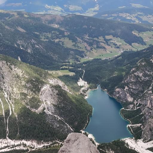 אגם בראיס מCroda del Becco
