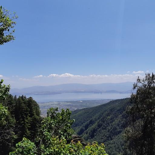 הנוף בשביל העננים