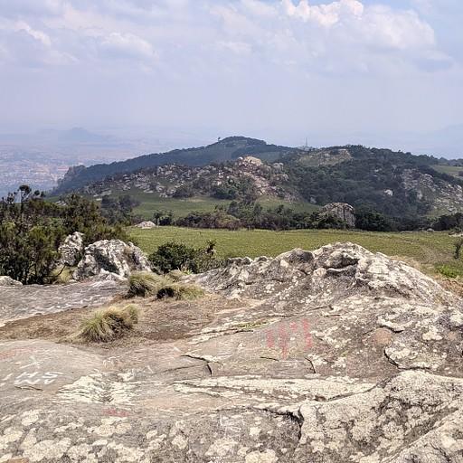תמונה מהפסגה של הר דדזה