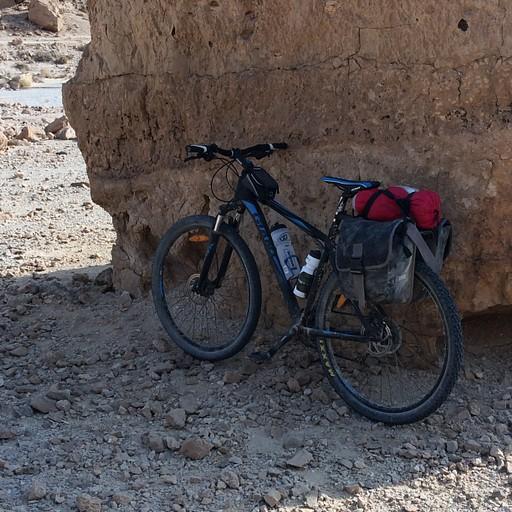 מכתש רמון - שביל ישראל לאופניים