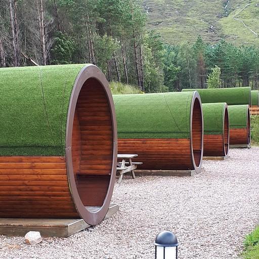 מיקרו-לודג'ים ב-Glencoe Mountain Resort