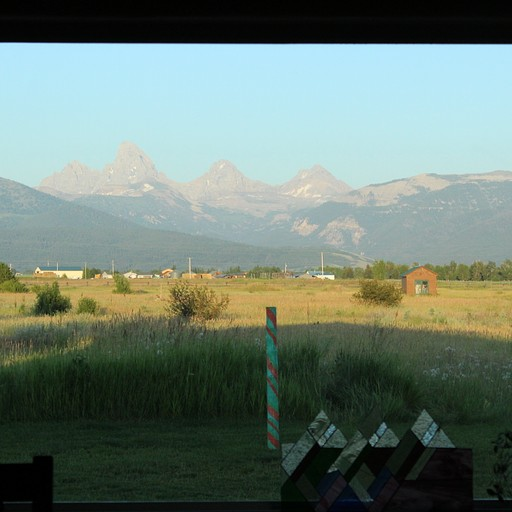 הנוף מהחלון בסלון