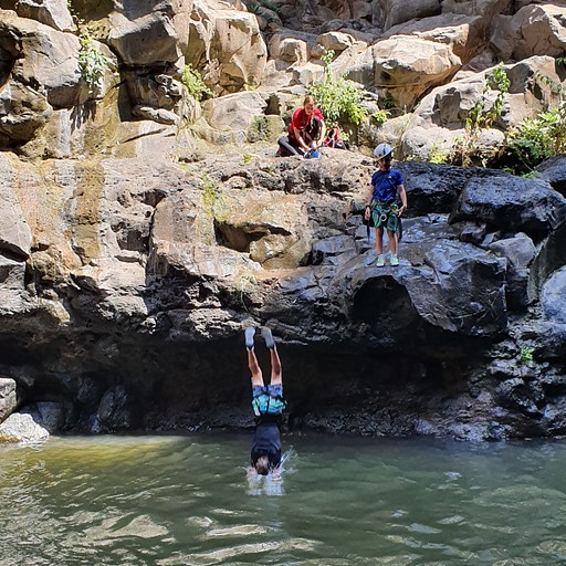 הבריכה לפני המפל השלישי