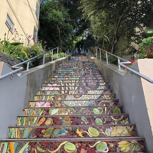 Hidden Garden Steps