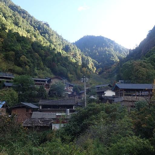 הכפר Hendu, נקודת הסיום של הטרק.