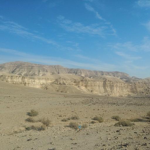 הרי מדבר יהודה בתחילת המסלול