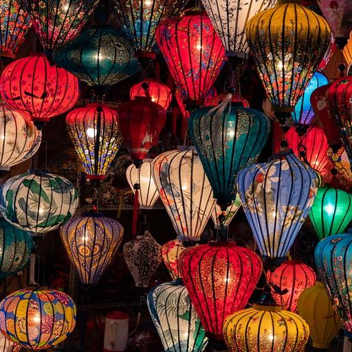 חנות למנורות בשוק הלילה