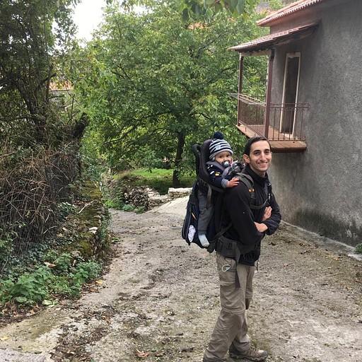 בתוך הכפר Stemnitsa