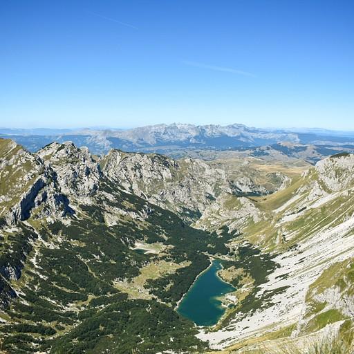 הנוף מפסגת הבובוטוב קוק.